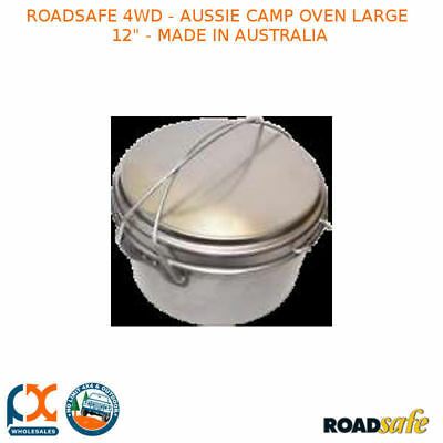 "Roadsafe 4Wd - Aussie Camp Oven Large 12"" - Made In Australia - Firec12"