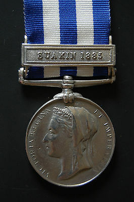 """Solid Silver Egypt Medal Clasp """"suakin 1885"""""""
