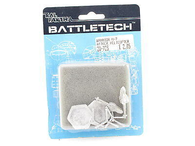Battletech Ral Partha Warrior H-7 Attack Helicopter 20-723 FASA Blue Card New