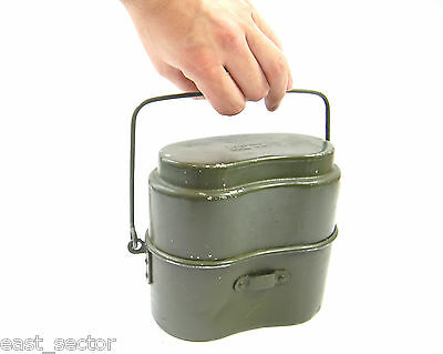 Cook Set Mess Tins Kits Polish Army - 2 Piece Mess Canteen Surv Military Trangia
