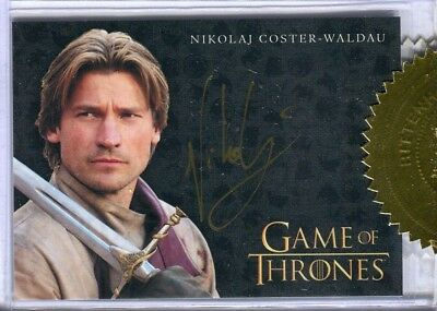 GAME OF THRONES SEASON 3 Three 3 Case Incentive Card Coster-Waldau Autograph
