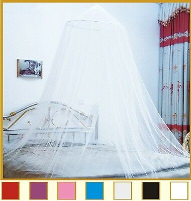 Octorose  Round Hoop Bed Canopy Netting Mosquito Net Fit Crib Twin Full Queen...