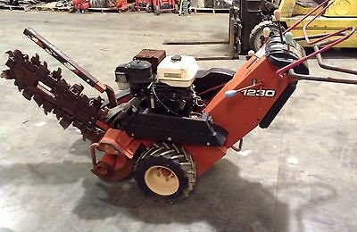 (1) 2006 Ditch Witch 1230 Walk Behind Trencher