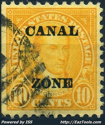 Panama Canal Zone N° 68 Avec Obliteration