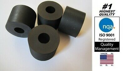 "Rubber Anti-vibration Spacer  1"" OD x 3/8"" ID x 3/4"" Thick (Item# X19-12)"
