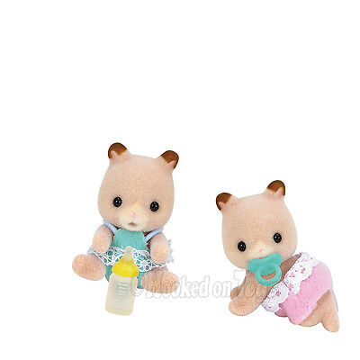 Calico Critters - Fluffy Hamster Twins Set - CC1491