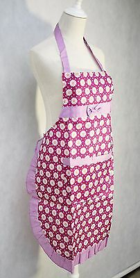 Women Ladies Floral Kitchen Apron with Front Pocket Water Proof
