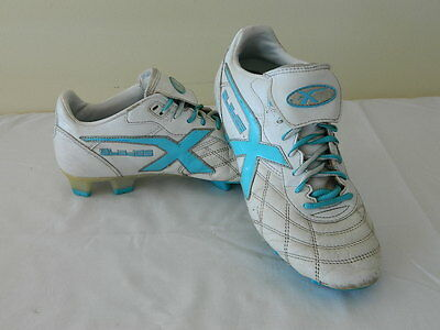 XBlades Legend Ice Size US 8.5 White & Blue Football Boots Shoes