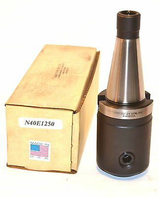 "NOS AMERICAN SUN USA Made N40E1250   NMTB 40 Shank 1-1/4"" END MILL HOLDER WL30.2"