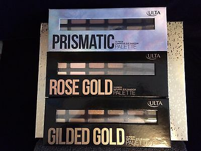 ULTA BEAUTY LOT - Eyeshadow Palette, Lipstick and gloss