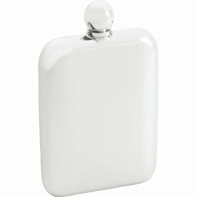 5.5oz Rounded Stainless Steel FLASK Ball Screw Cap Pocket Liquor Whiskey Drink