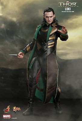 THOR: Dark World - Loki 1/6th Scale Action Figure (Hot Toys) #NEW