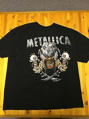 Metallica Tee Shirt Pushead