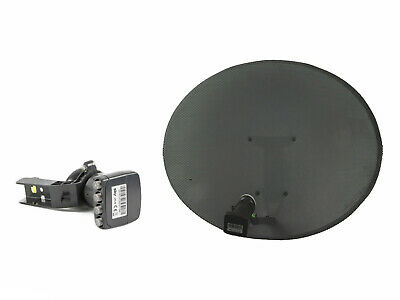 Sky / Freesat Satellite Dish with Quad LNB, use for Sky or Free TV