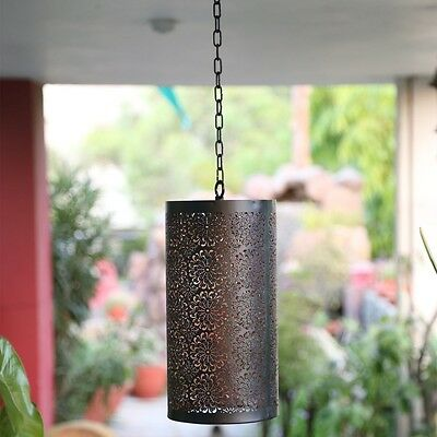 Stylla Shabby Chic Metal Moroccan Ceiling Light Shade Pendant New  Vintage Style