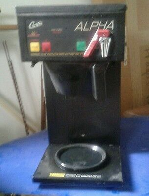 Curtis Commercial  Alpha Coffee Brewer Coffee Maker