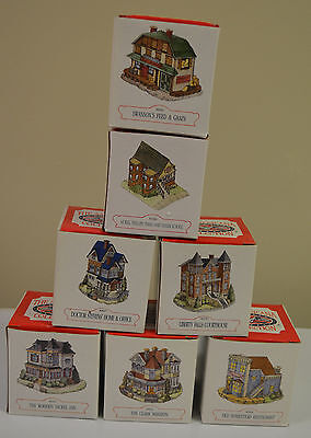 THE AMERICANA COLLECTION LIBERTY FALLS LOT of 7