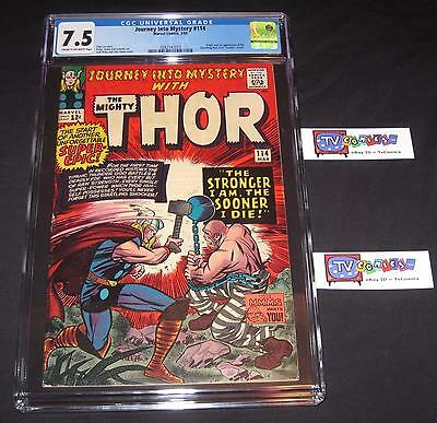 Journey Into Mystery #114 CGC 7.5 Origin and 1st appearance of the Absorbing Man