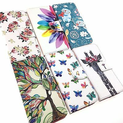 iPhone 5/5C/6/7/7 Plus High Quality Leather Wallet Flip Folio Cover Case Stand