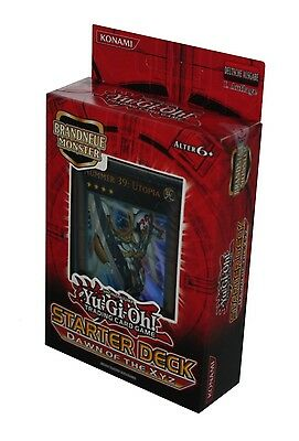 YU-GI-OH! STARTER DECK-DAWN OF THE XYZ-TRADING CARD GAME-Sammeln-deutsch-neu