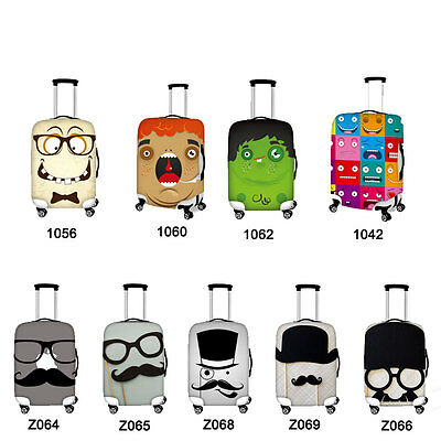18/20/22/24/26/28/30 inch Travel Luggage Covers Elastic Suitcase Protector Cool