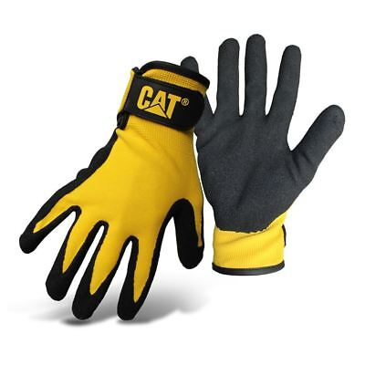 New Caterpillar Nitrile Coated Anti-Slip Work Garden Glove