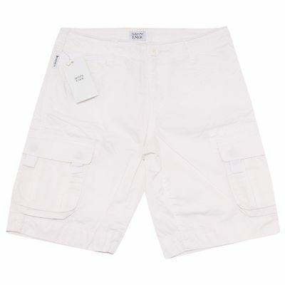 6306O bermuda bianco bimbo ARMANI JUNIOR trousers shorts kids
