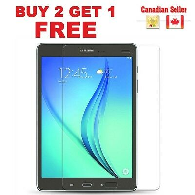 Tempered Glass Screen Protector Samsung Galaxy Tab 3/4/Pro/ A/ S/E Canadian