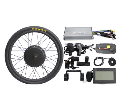 36V/48v 1200w Threaded Rear Wheel Ebike Conversion Kit with Sine Wave Controller