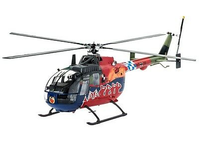 Revell BO 105 35th Anniversary of Roth Fly-Out Version - 04906