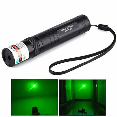 Military 532nm Green Laser Pointer Pen JD-850 Visible Beam 1mw High Power Lazer