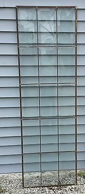 Vintage Beveled glass window panels