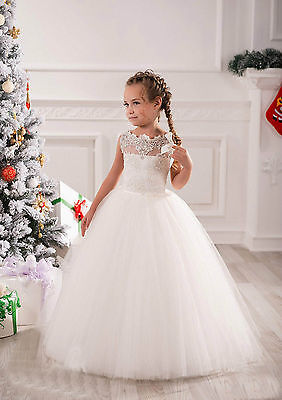 Flower Girl Dress Communion Pageant Wedding Easter Graduation Bridesmaid Dresses
