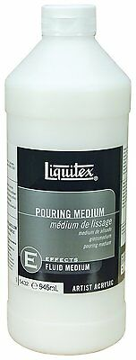 Liquitex Pouring Effects Medium 32-Ounce