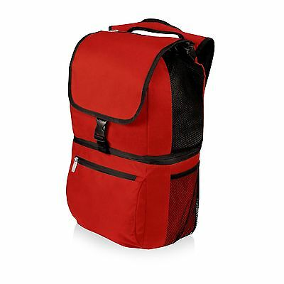 Picnic Time Zuma Insulated Cooler Backpack Red