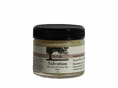 Salvation Dry Skin Crusty Nose Salve for Dogs Paw Treatment Hair Growth Remedy