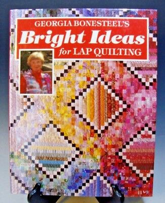 bright ideas for lap quilting