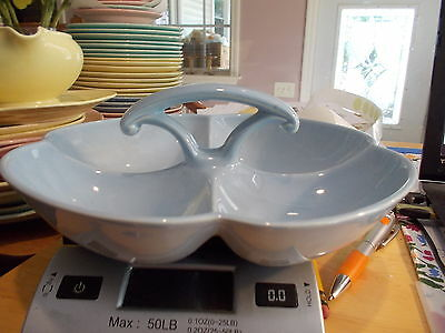 4 Section TS&T LuRay Pastels Blue Relish Bowl