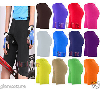 Womens Cycling Shorts Dancing Shorts Lycra Leggings Active Casual Shorts