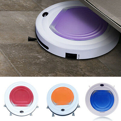 Intelligent Automatic Robotic Robot Vacuum Cleaning Floor Cleaner Sweeper New