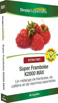 Super Framboise K2000 MAX - 60 capsules - Simply Supplements