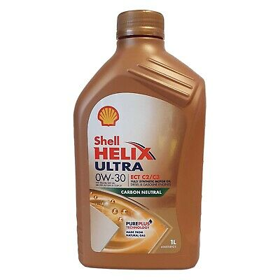 Shell Helix Ultra ECT C2/C3 0w-30 Fully Synthetic Engine Oil - 1 Litres 1L