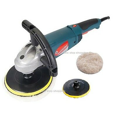 Heavy Duty Silverline 1500W 180Mm Car Polisher & Sander Polishing Machine Buffer