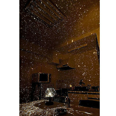 Home Ceiling Wall Star Projector Lamp Starry Night Sky Cosmos LED Night Light CO