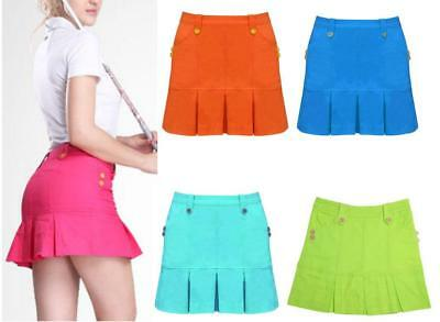 Ladies Golf Skirts Summer clothing cotton Women Sport Clothes Shorts Casual