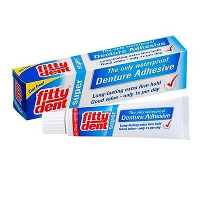 Fittydent Super Denture Adhesive Full and Partial 40g