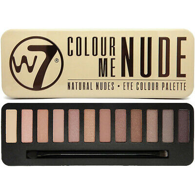 W7 Makeup Make Up Ojo Sombra Paleta Naked Nude Natural Colores - In The Nude