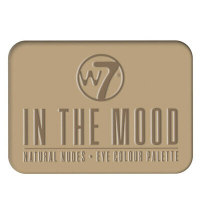 W7 Makeup Make Up Ojo Sombra Paleta Naked Nude Natural Colores - In The Mood