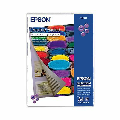 Epson A4 Double-Sided Matte Paper 178Gsm - 50 Sheets - C13S041569