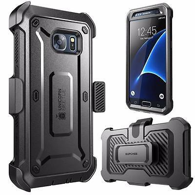 Galaxy S7 Case SUPCASE Fullbody Rugged Holster Case Built In Screen Protector